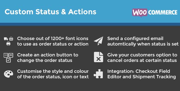 WooCommerce Custom Order Status & Actions v2.1.4