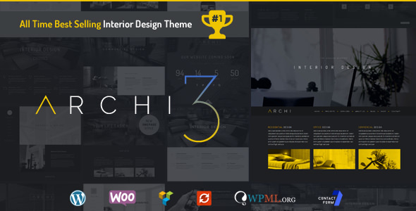 Archi v3.4.1 – Interior Design WordPress Theme