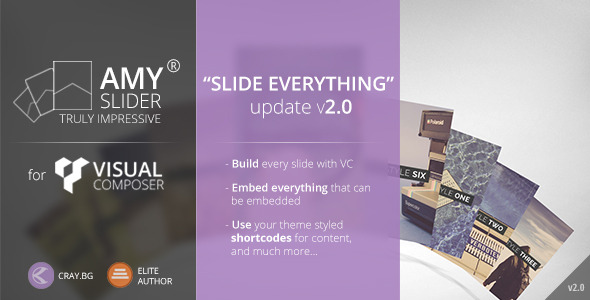 AMY Slider for Visual Composer v2.1