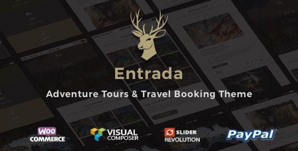Entrada v1.7.9 – Tour Booking & Adventure Tour