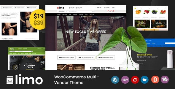 Limo v1.0 – 多功能WooCommerce电商主题