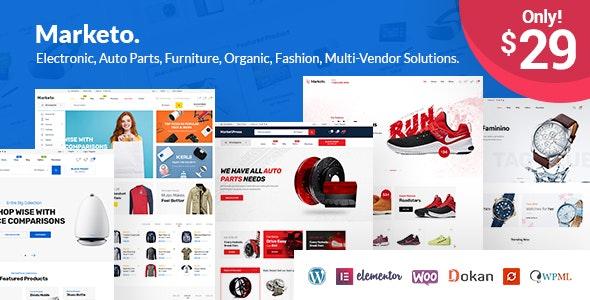 Marketo v3.4 – 电子商务/多供应商WordPress主题