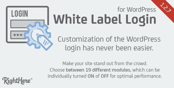 White Label Login for WordPress v1.2.7.76915