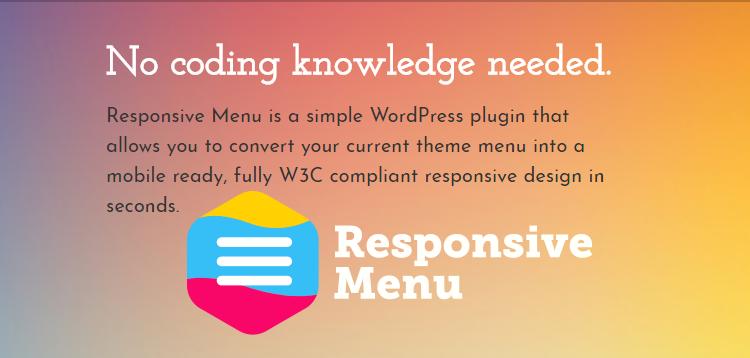 Responsive Menu Pro v3.1.30 – 响应式菜单插件