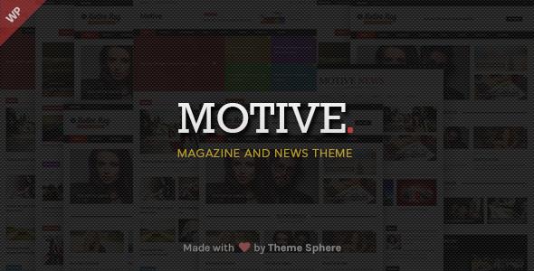 Motive v1.2.6 – Magazine News WordPress Theme