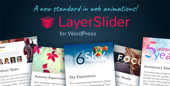 LayerSlider v6.3.0 – Responsive WordPress Slider Plugin