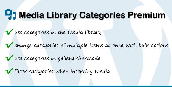 Media Library Categories Premium v2.1.6