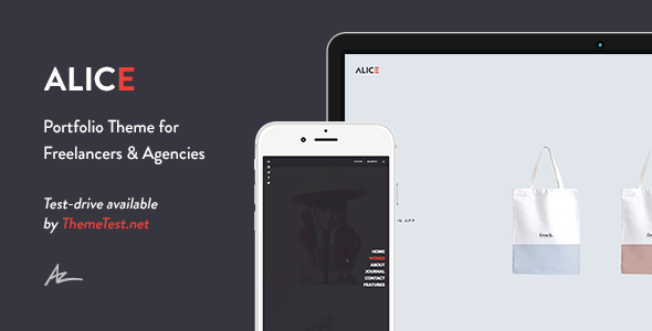 Alice v2.0.4.1 - Agency & Freelance Portfolio Theme