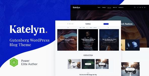 Katelyn v1.0.5 – 创意/博客WordPress主题