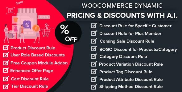 WooCommerce Dynamic Pricing & Discounts with AI v1.6.3 – 动态定价和折扣插件