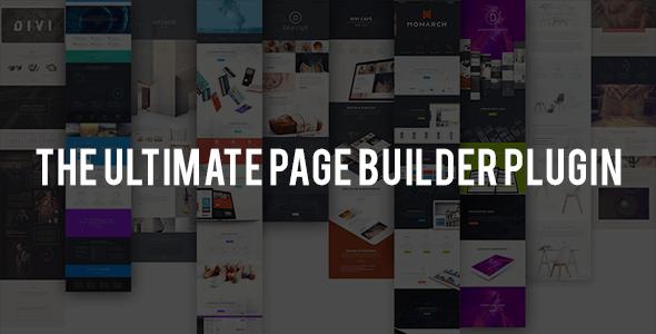 Divi Builder v2.0 – Drag & Drop Page Builder Plugin
