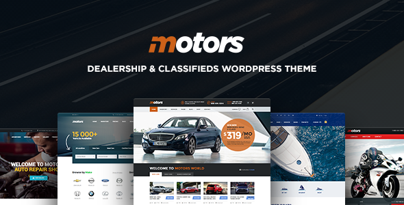 Motors v3.7 - Automotive, Cars, Vehicle, Boat Dealership