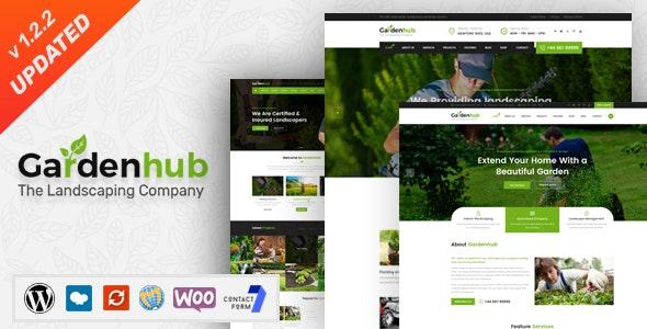 Garden HUB v1.2.2 - 草坪/园林绿化WordPress主题