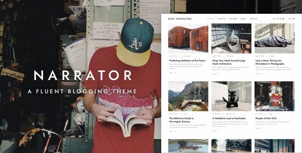 Narrator v1.3.4 – 流利WordPress博客主题