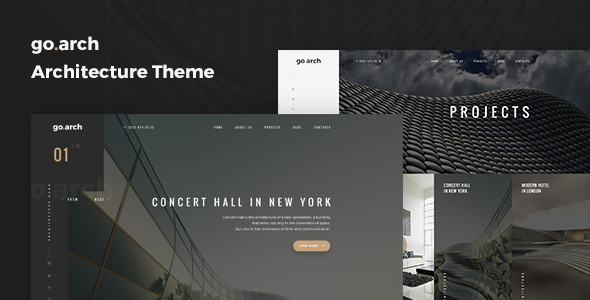 go.arch v1.0.9 – Architecture and Interior WordPress Theme