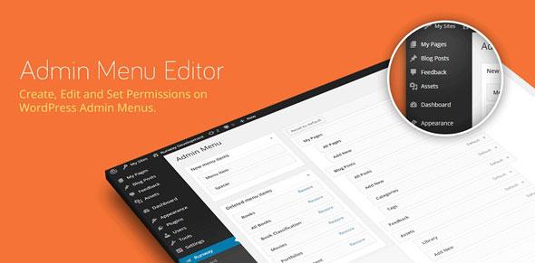 Admin Menu Editor Pro v2.4.3