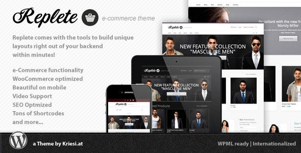 Replete v4.3 – Themeforest e-Commerce and Business
