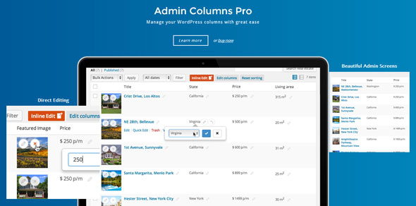 Admin Columns Pro v5.1.0 – 管理员专栏附加组件
