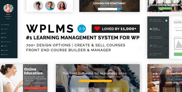 WPLMS v2.5.0 – Learning Management System