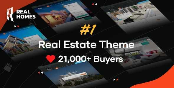 Real Homes v3.10.2 – WordPress房地产主题