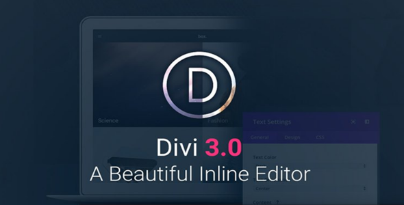 Divi v3.0.52 + PSD Files
