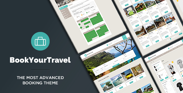 Book Your Travel v7.19 - Online Booking WordPress Theme