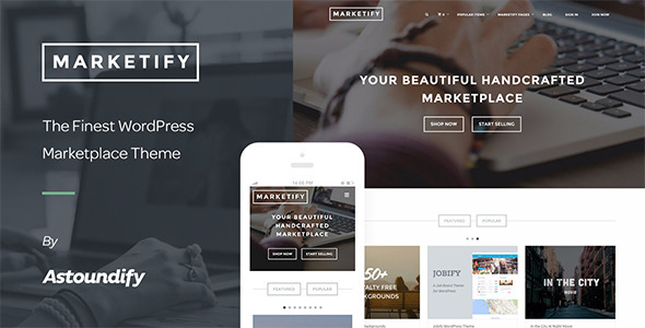 Marketify v2.11.0 – Marketplace WordPress Theme