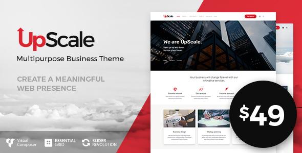 UpScale v1.0.2 – Multi-Purpose Business Theme