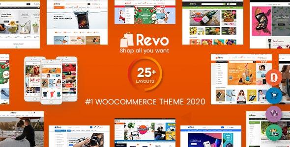 Revo v4.0.6 - 多功能WooCommerce电商WordPress主题