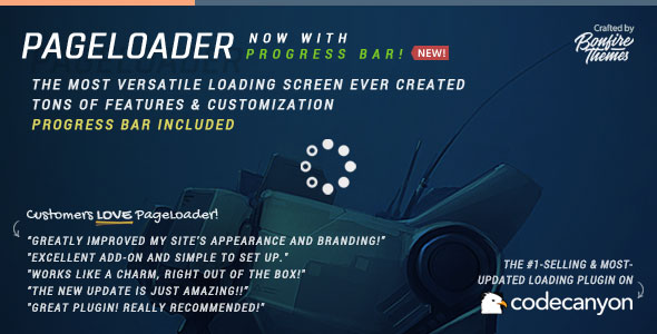 PageLoader v2.5 - Loading Screen and Progress Bar