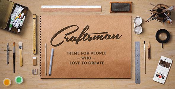 Craftsman v1.4.6 – WordPress Craftsmanship Theme