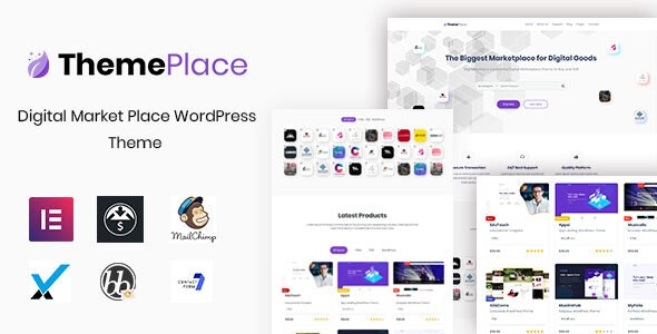 ThemePlace v1.1.4 – WordPress卖场主题