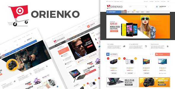 Orienko v1.2 – WooCommerce Responsive Digital Theme