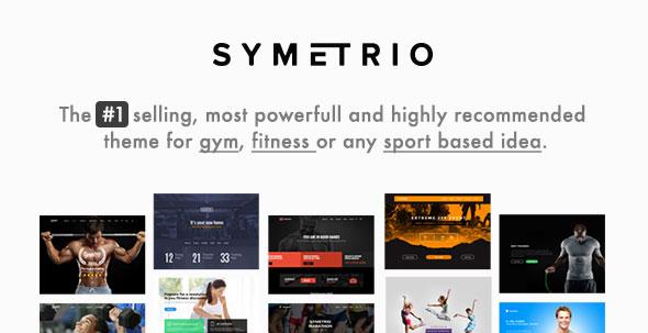 Symetrio v4.8.1 - Gym & Fitness WordPress Theme