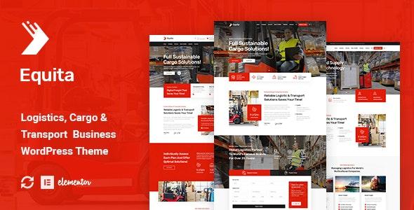 Equita v1.0.0 – Logistics Cargo WordPress Theme