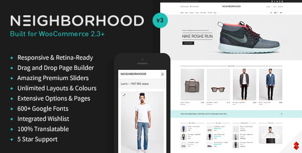 Neighborhood v3.4.32 – Responsive Multi-Purpose Shop Theme
