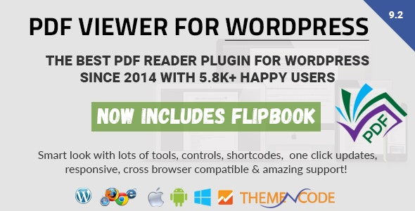 PDF viewer for WordPress v10.1.1 – PDF查看器