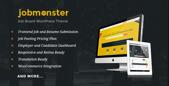 Jobmonster v4.3.2 – Job Board WordPress Theme
