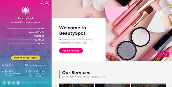 BeautySpot v3.3.3 – 美容/沙龙WordPress主题