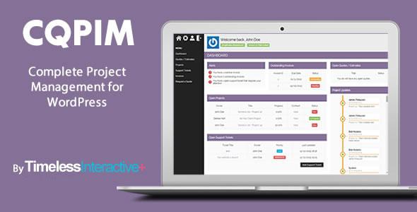 CQPIM – 项目管理类WordPress插件 v3.0.1