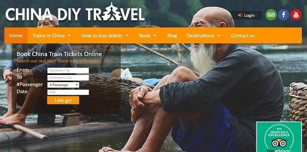 5 Best Places Online to Buy Train Tickets in China