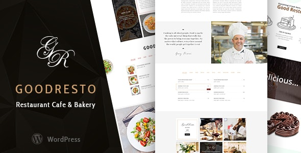 GoodResto v3.0 – 餐厅WordPress主题 + Woocommerce