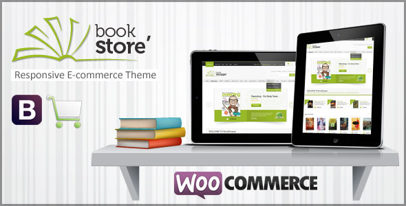 Book Store v2.0 - 主题林响应式WooCommerce主题