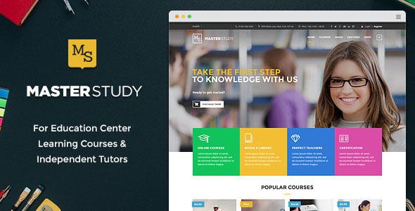 Masterstudy v1.6.1 – Education Center WordPress Theme