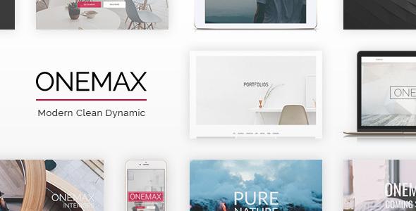OneMax v1.33 – Responsive Multi-Purpose WordPress Theme