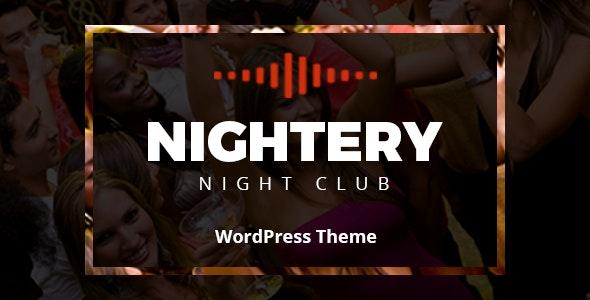 Nightery v1.2.6 – 夜总会WordPress主题