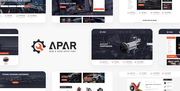 Apar v1.0.1 – 汽车配件WordPress商店主题