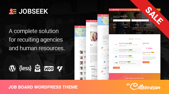 Jobseek v2.2.8 – Job Board WordPress Theme