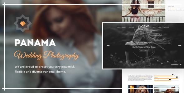 Panama v1.9.4 – Photography WordPress Theme