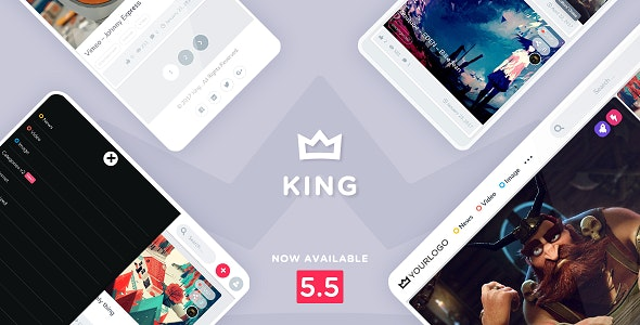 King v5.5.1 – WordPress Viral Magazine Theme